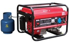 Budget LPG Powered Generators